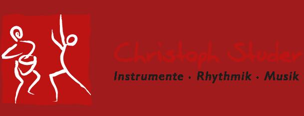 Christoph Studer – Instrumente, Rhythmik, Musik