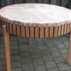 Tischtrommel, 120 cm Durchmesser mit Standbeinen 90 cm Spielhöhe