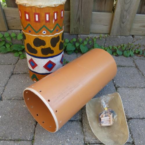 Kanalrohrtrommel-Bausatz