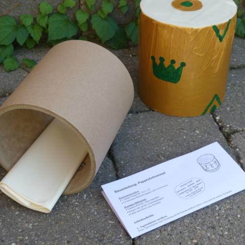Bausatz Papprohrtrommel