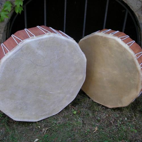 Rahmentrommeln, 50 und 60 cm Durchmesser