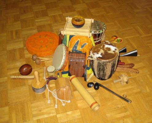 Instrumente in der Mitte Seminar-Fortbildung-Musik