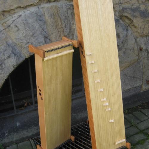 Monochorde, 120 cm und 85 cm