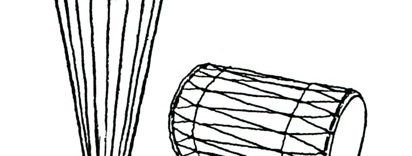 Zeichnung StuderKlang Trommeln