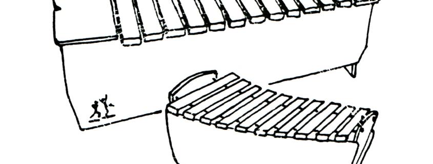 Zeichnung StuderKlang Xylophone