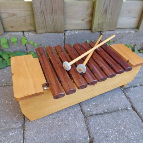 afrika-xylophon, 1 Oktave