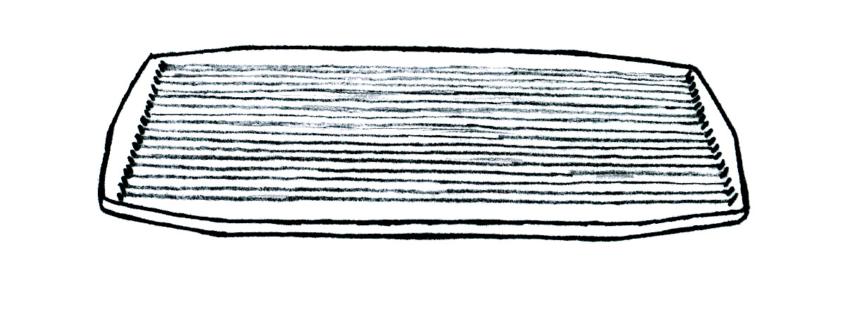 Zeichnung eines Massage Polychords